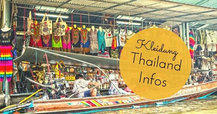 Kleidung in Thailand Waschen Kaufen Preise T-Shirt