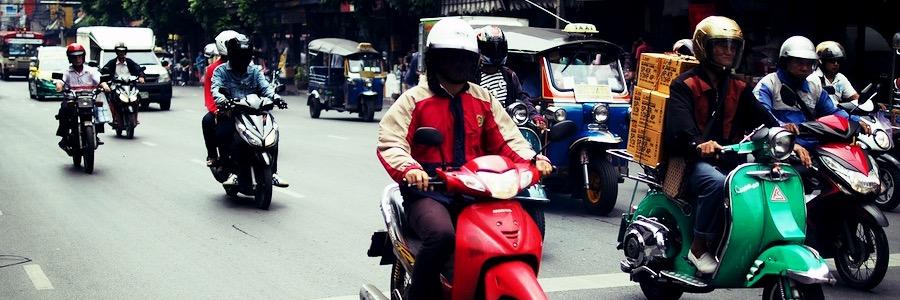 Motorbike Taxi Bangkok