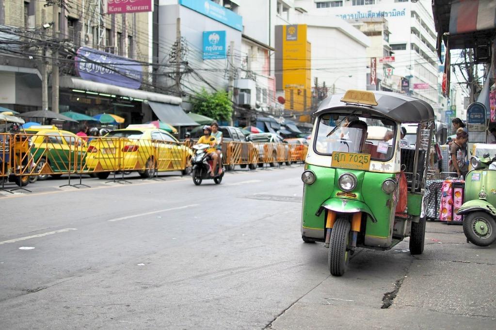 Tuk-Tuk-Bangkok-Chiang-Mai-Thailand