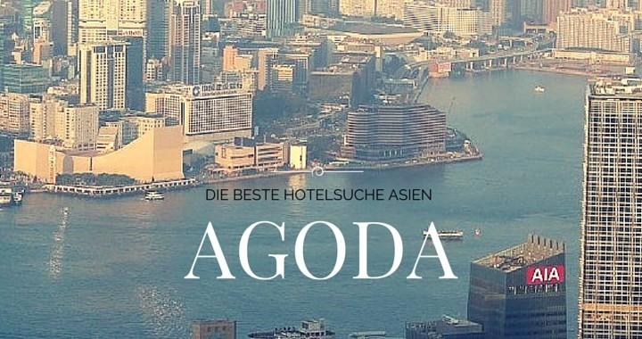 Agoda Hotelsuchmaschnie Asien