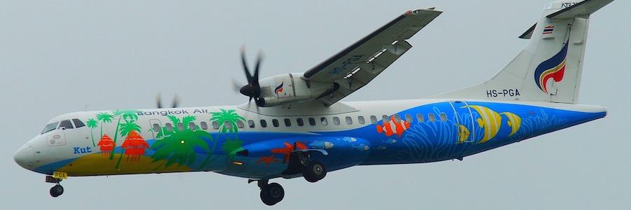 Bangkok Airways: Mit diesem Flugzeugtyp geht's von Pattaya nach Ko Samui CC by Aero Icarus