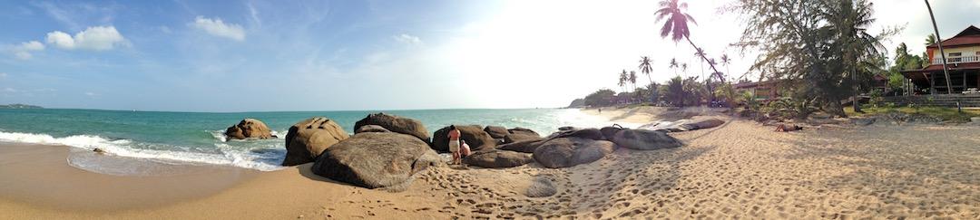 Koh Samui Lamai Beach Panorama