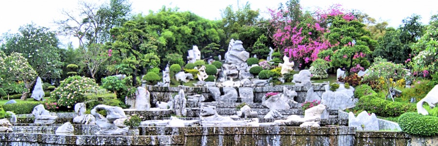 Million Years Stone Park Pattaya Thailand