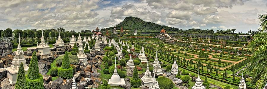 Nong Nooch Botanical Garden Pattaya Thailand