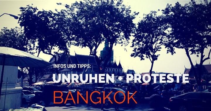 Unruhen Proteste Thailand Militärregierung