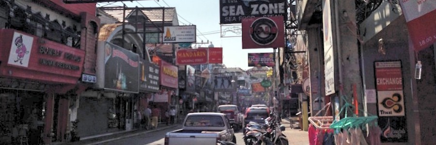 Walking Street Tag Pattaya Thailand
