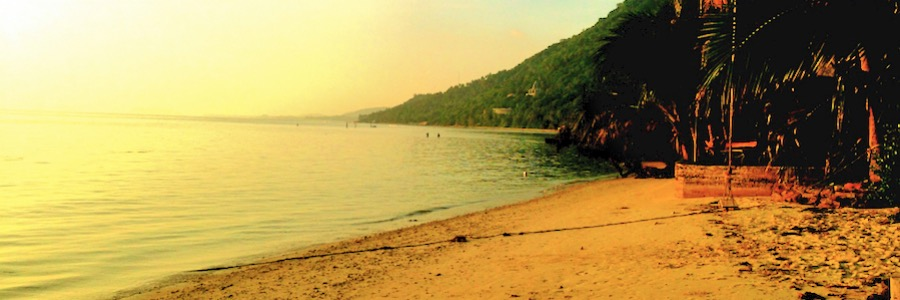 BlueMarine Sonnenuntergang Koh Phangan Thailand