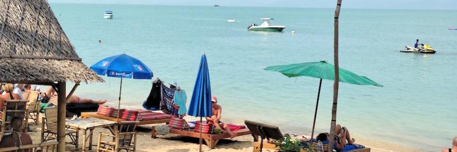 Bophut Beach Thailand Koh Samui