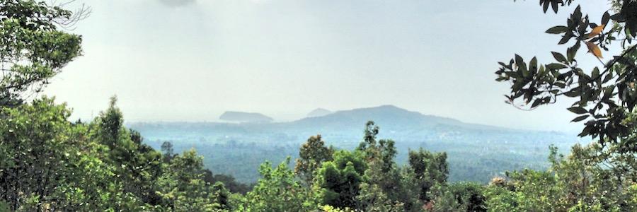 Koh Phangan Dschungel Wanderung Aussichtspunkt