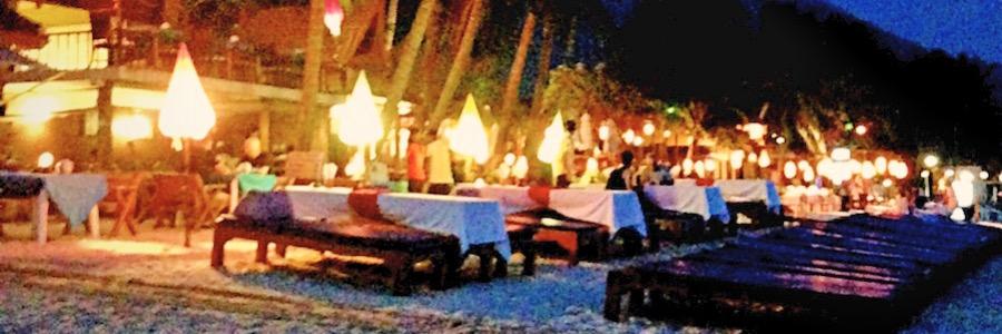 Koh Samui Lamai Strand Restaurant