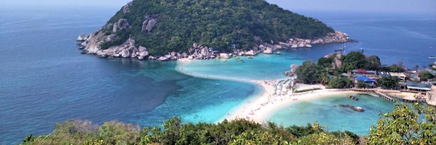 Koh Tao Nang Yuan Viewpoint Thailand
