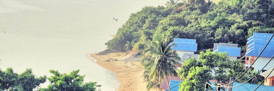 KohPhangan Bucht Aussicht