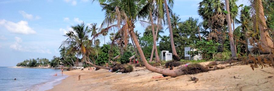 Maenam Beach Thailand Koh Samui