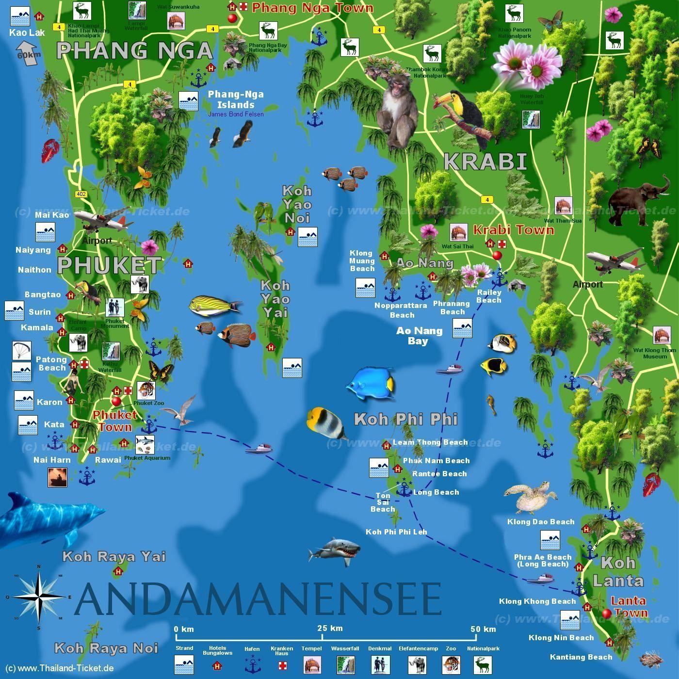 krabi tourist map krabi noi tourist map krabi town mappery krabi