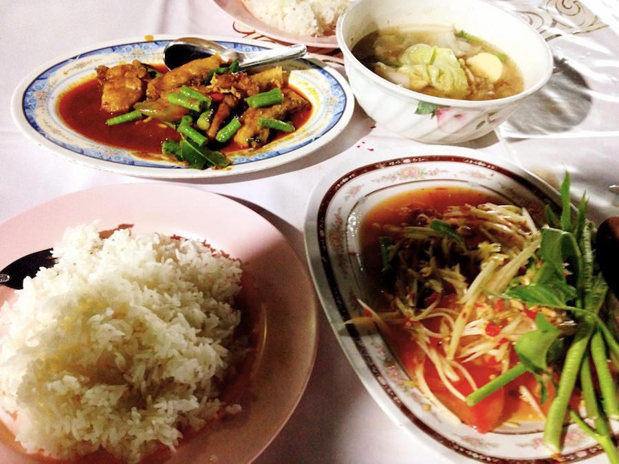 AuthenticThaifood_Krabi Town Night Market