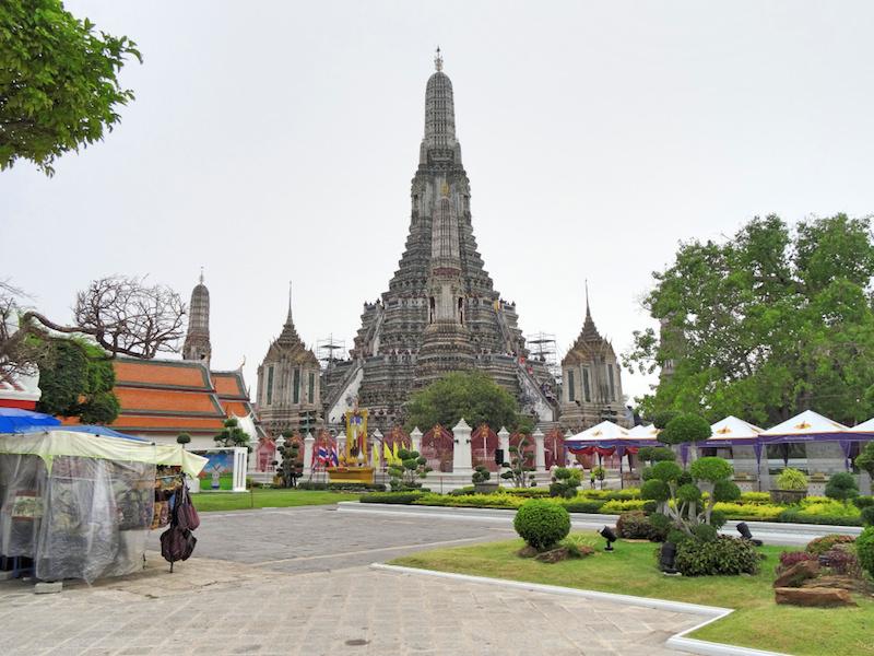 Wat Arun in seiner vollen Pracht