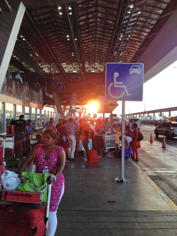 Flughafen Bangkok Departure