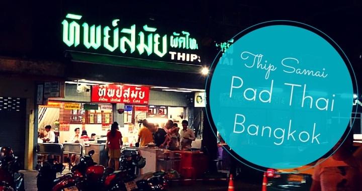 Thip Samai Thaifood Restaurant Bangkok Thailand