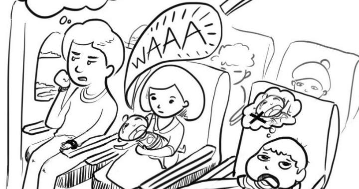 10 Typen im Flugzeug