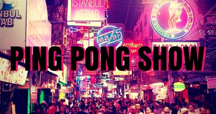 Ping Pong Show Thailand Pattaya Bangkok