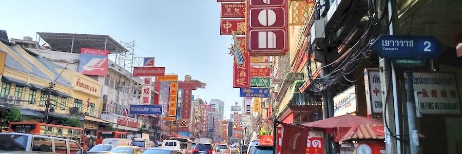 Chinatown Bangkok Hauptstrasse