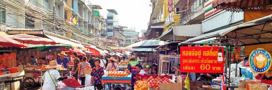 Chinatown Bangkok Marktstände