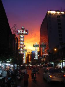 Chinatown Bangkok Nacht