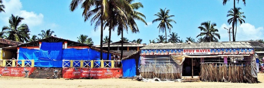 Goa Bogmalo Beach Hippie Trail