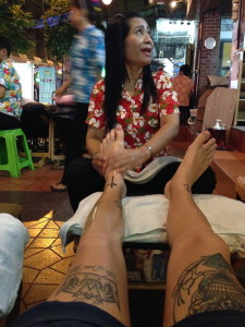 Massage Rambuttri Alley