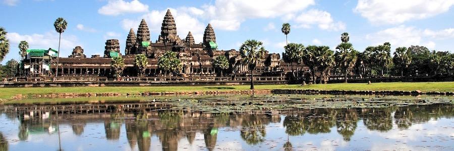 Angkor Wat Siem Reap Kambodscha Mittag