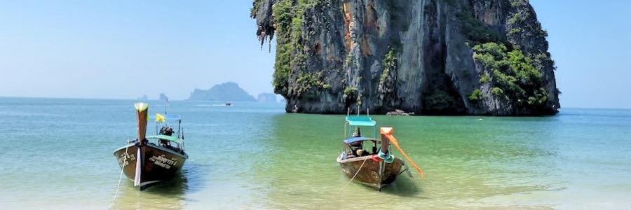 Ao Nang Poda Island Thailand Strand