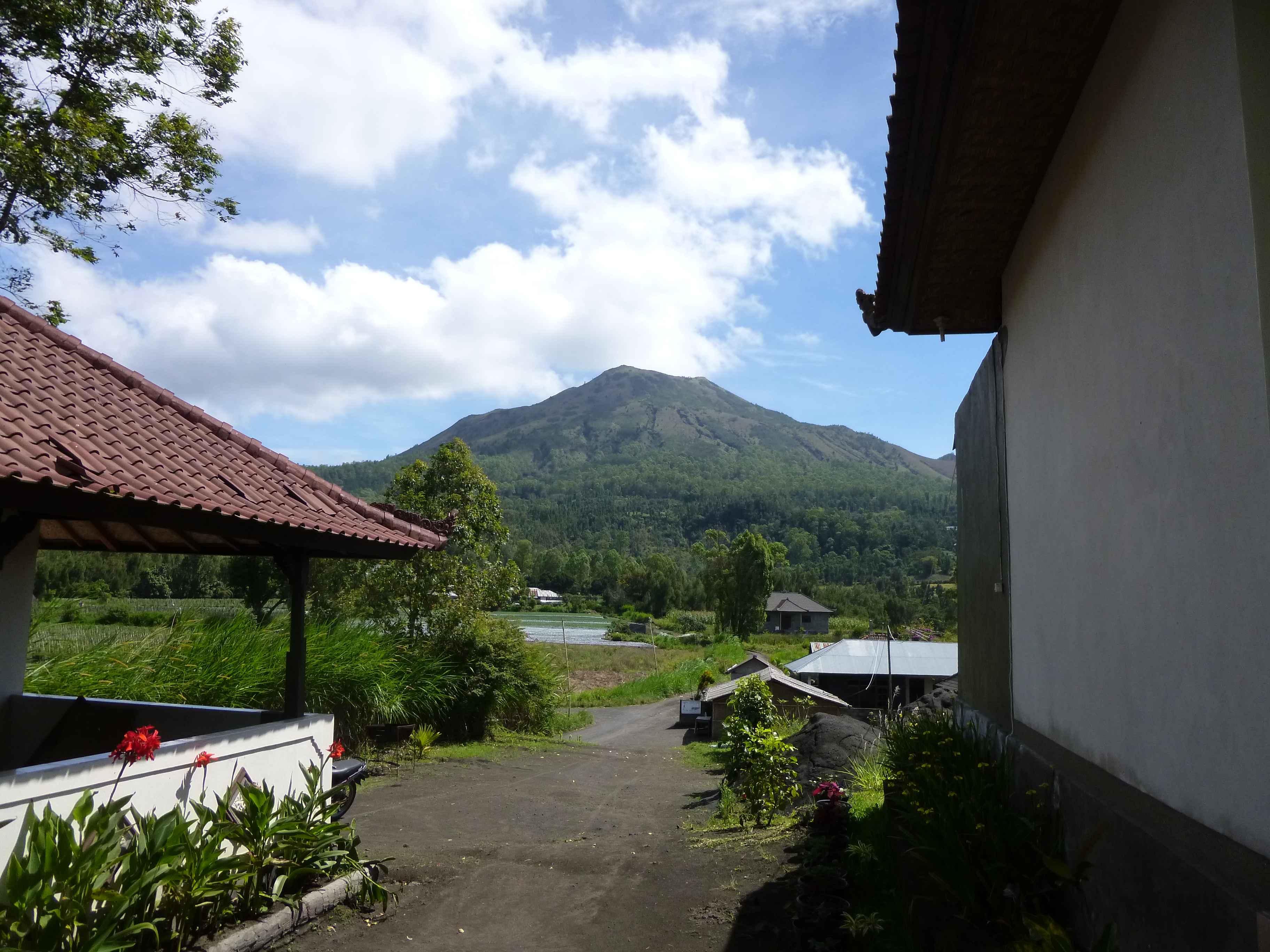 Blick auf den Gunung Bator Bali