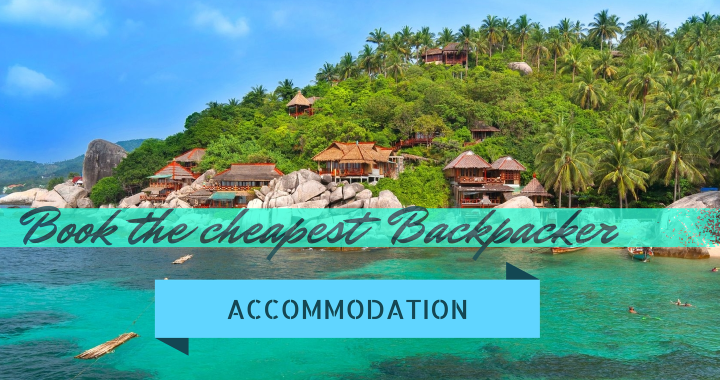 Book Backpacker Accommodation Bungalow Thailand Titel