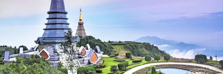 Doi Inthanon Chiang Mai Tempelberg