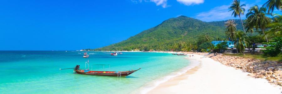 Koh Phangan Thailand Strand Ban Tai