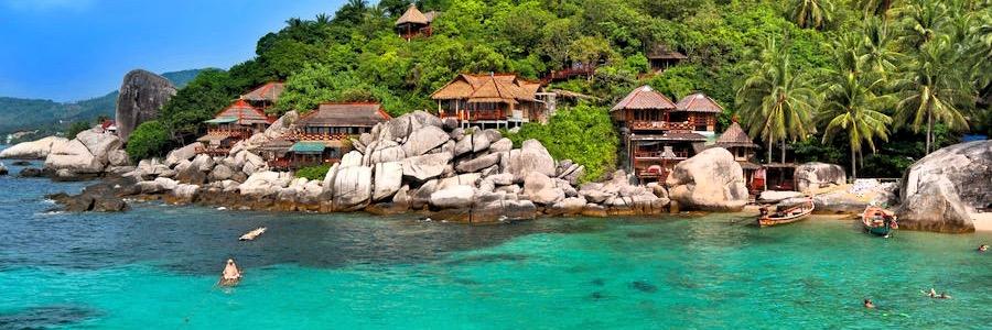 Koh Tao Strand Bungalows Unterkünfte Hotels