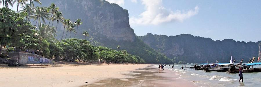 Krabis Straende - Ao Nang Beach 01