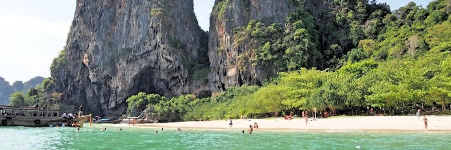 Krabis Straende - Phra Nang Cave Beach 01