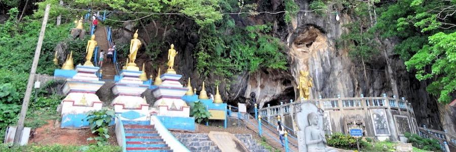 Stufen Tiger Cave Tempel Krabi Aufstieg