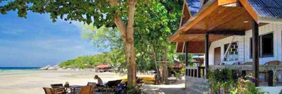 Sunshien Beach Resort Klassisches Strandbungalow Thailand Koh Tao