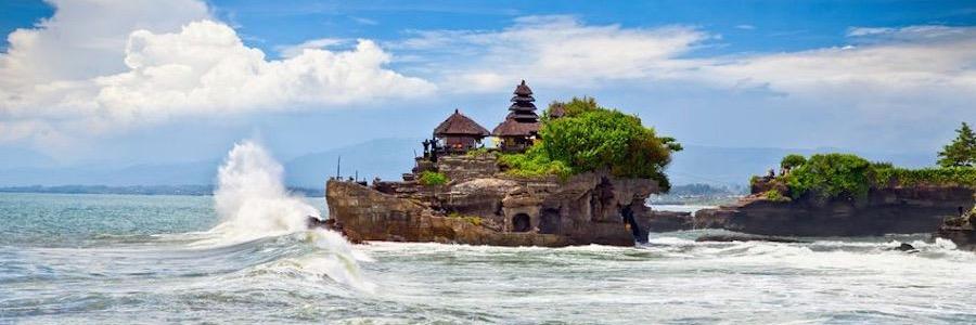 Der sagenhafte Tanah Lot Tempel auf Bali