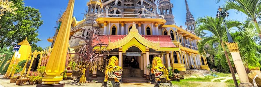 Tiger Cave Tempel Krabi Thailand
