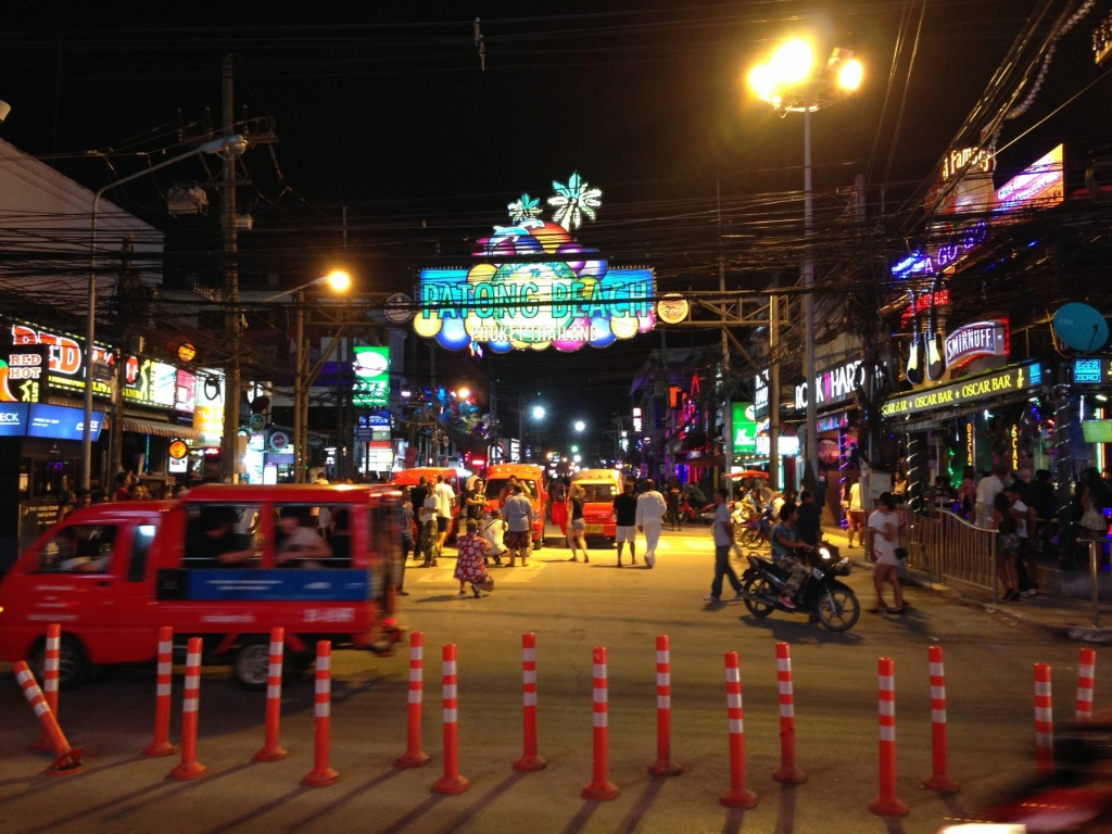 Patong Bangla Road Phuket Nightlife