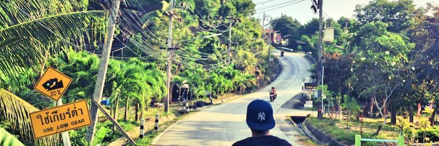 Roller mieten Thailand