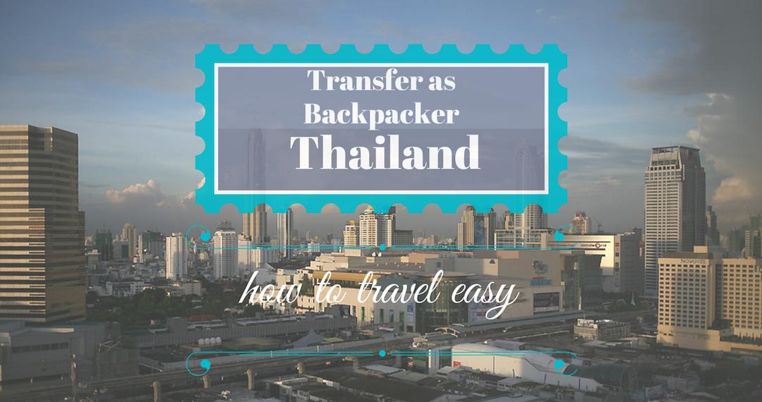Transfer as Backpacker