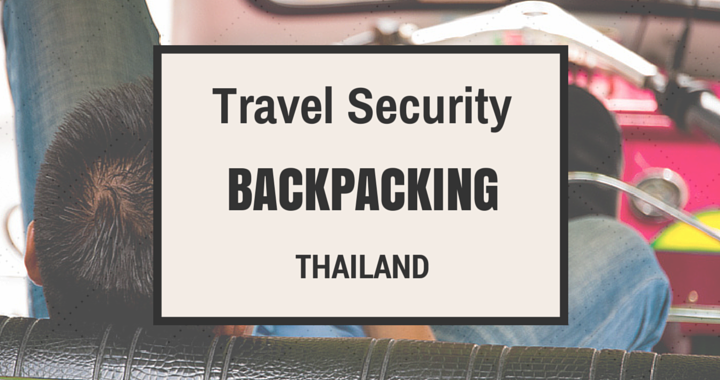 Travel Security Backpacker Thailand