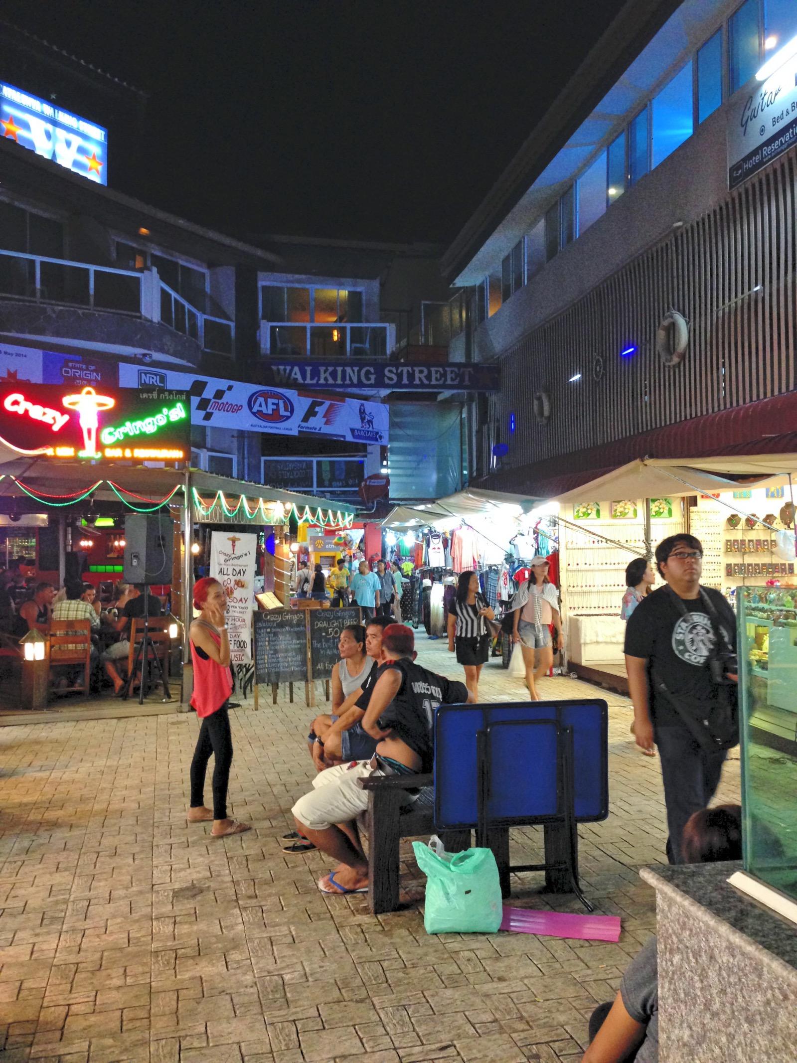 Ao Nang Nachtleben Walking Street
