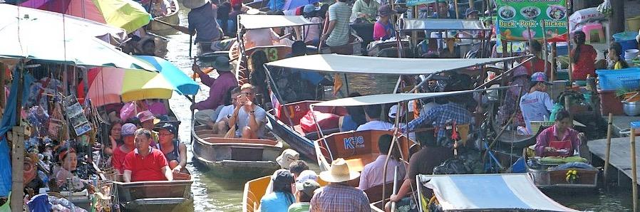 Damnoen Saduak Market Bangkok Sehenswürdigkeiten