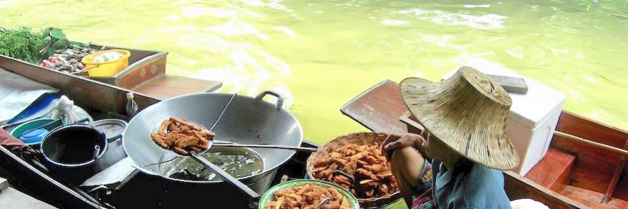 Taling-Chan-Floating-Market Sehenswürdigkeiten Bangkok