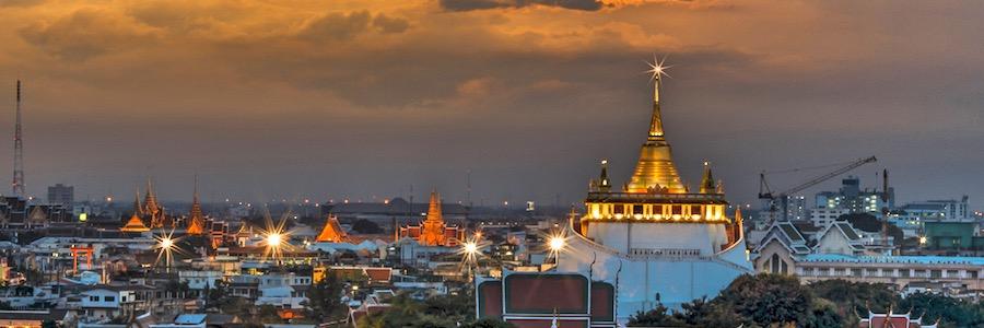 Wat-Saket-Bangkok-Sightseeing-Bangkok Sehenswürdigkeiten